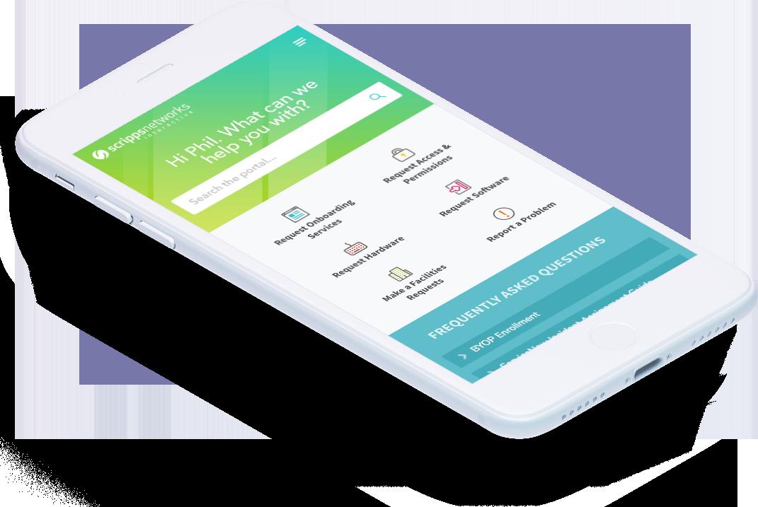 Service Portal Phone UI