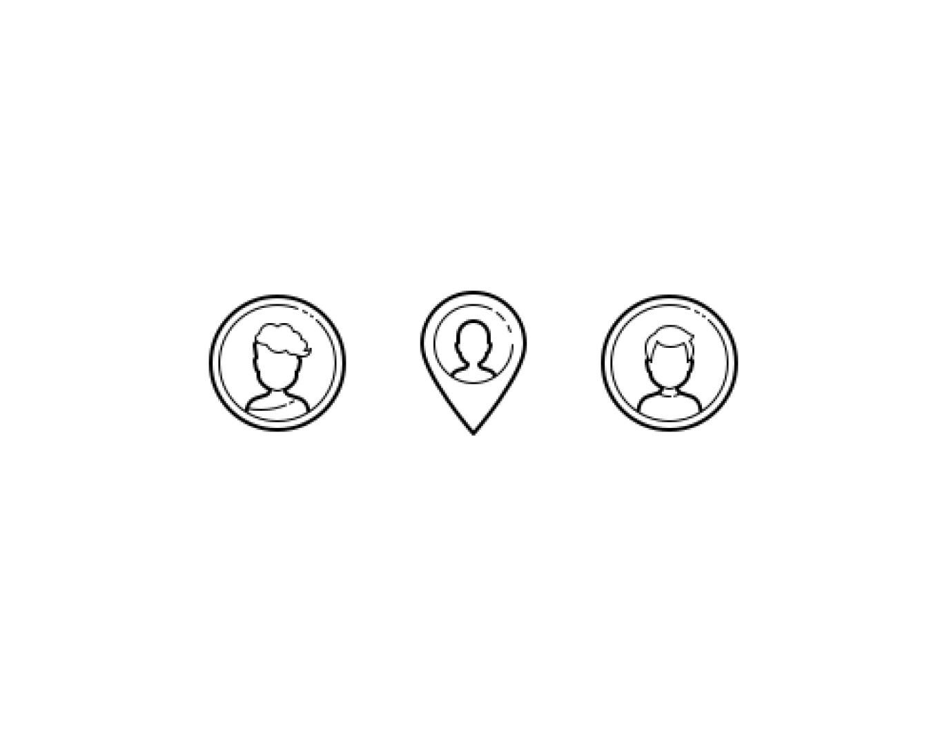 Symbols for Trade Area Analysis
