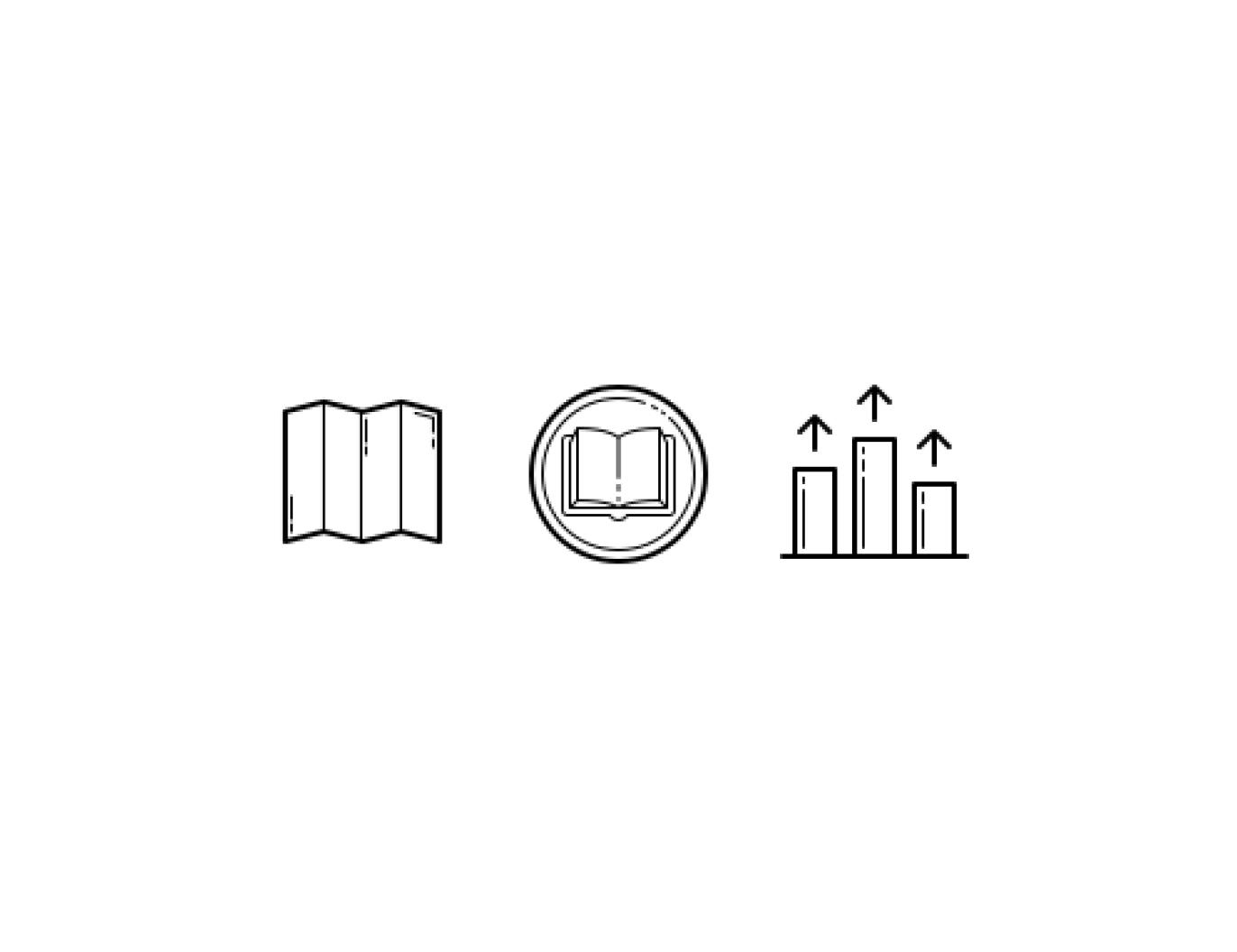 Symbols for Roadmap to Success