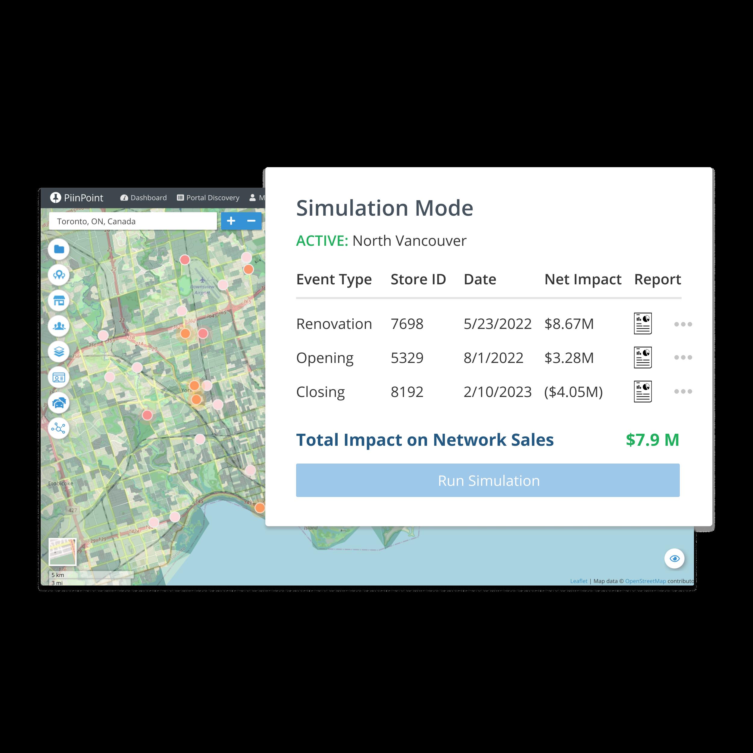 Network Simulations demo image