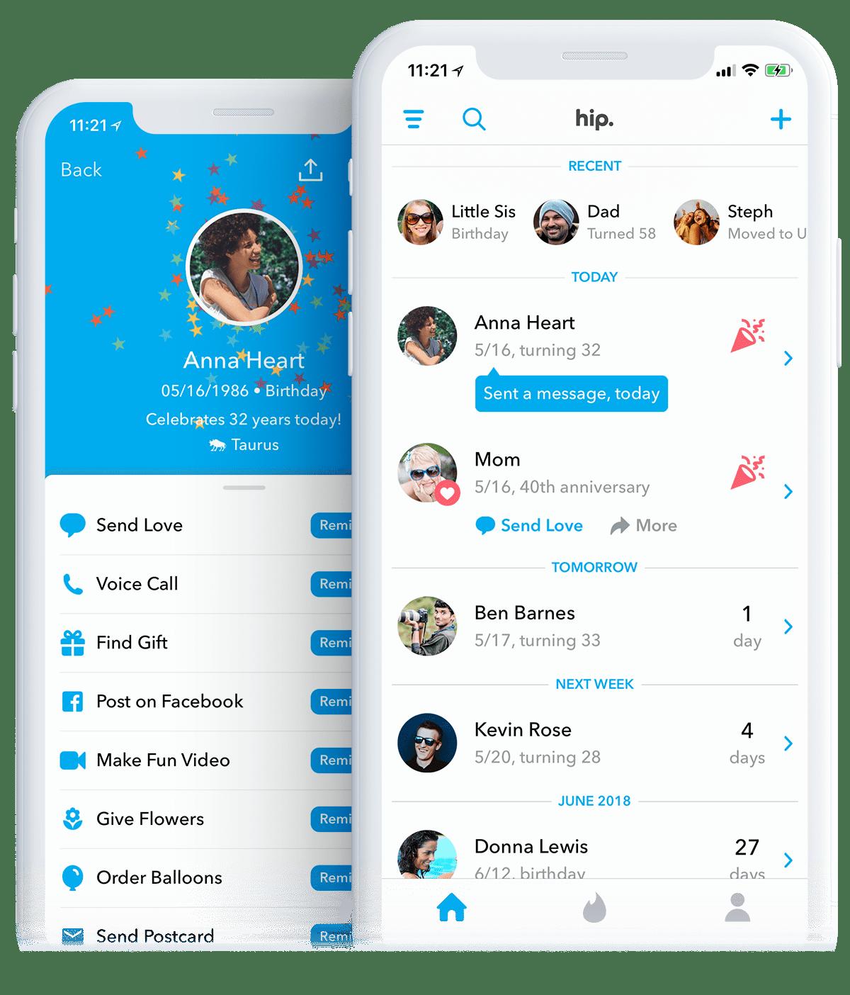 1 Birthday Anniversary App