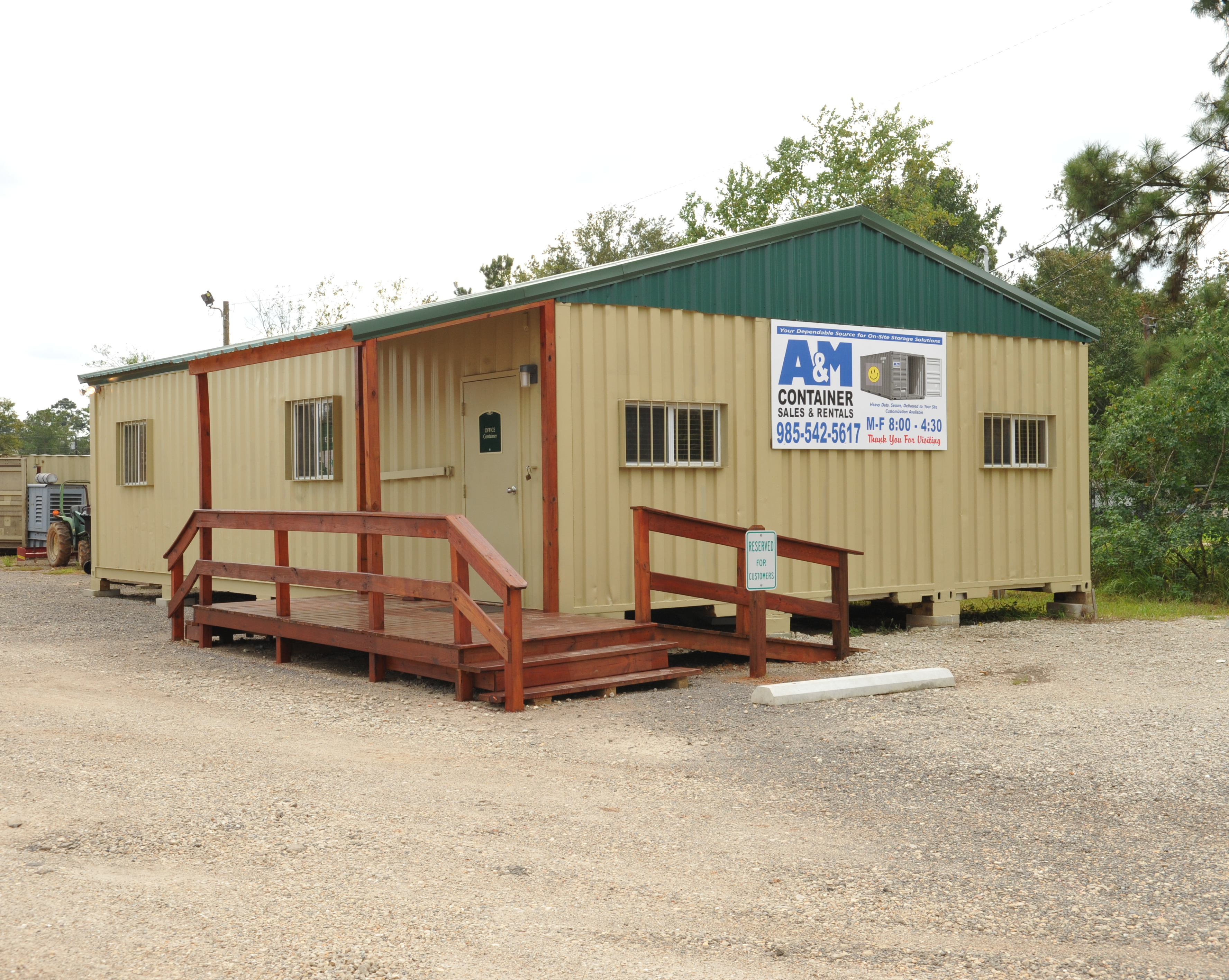 A M Containers Shipping Containers for Sale or Rent