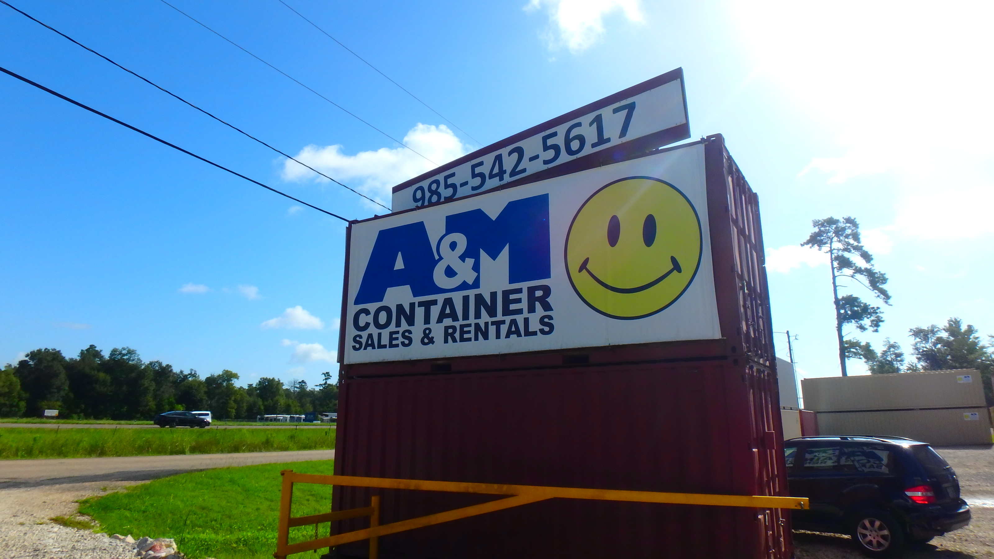 A & M Containers – Shipping Containers for Sale or Rent
