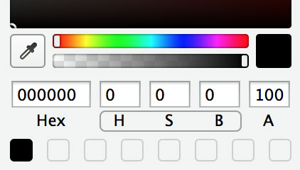 HSB and RGB Color Picking in Sketch