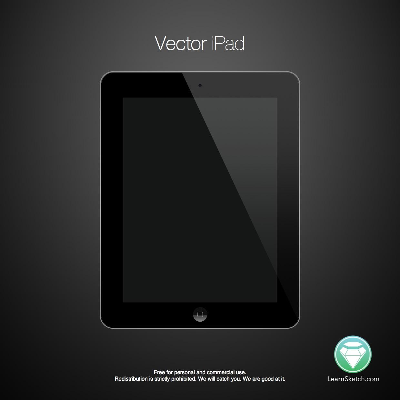 Vector iPad Sketch Freebie
