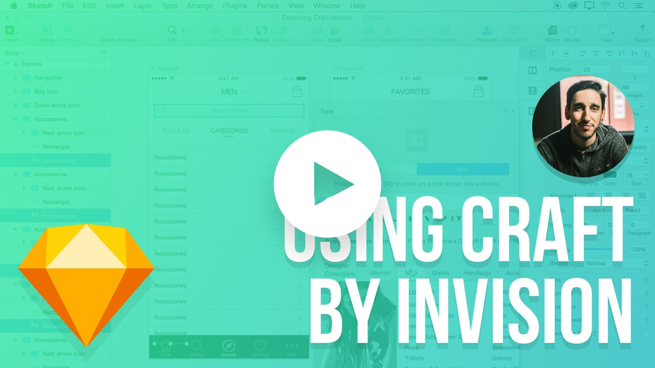 How to Use Craft by InVision in Sketch 3