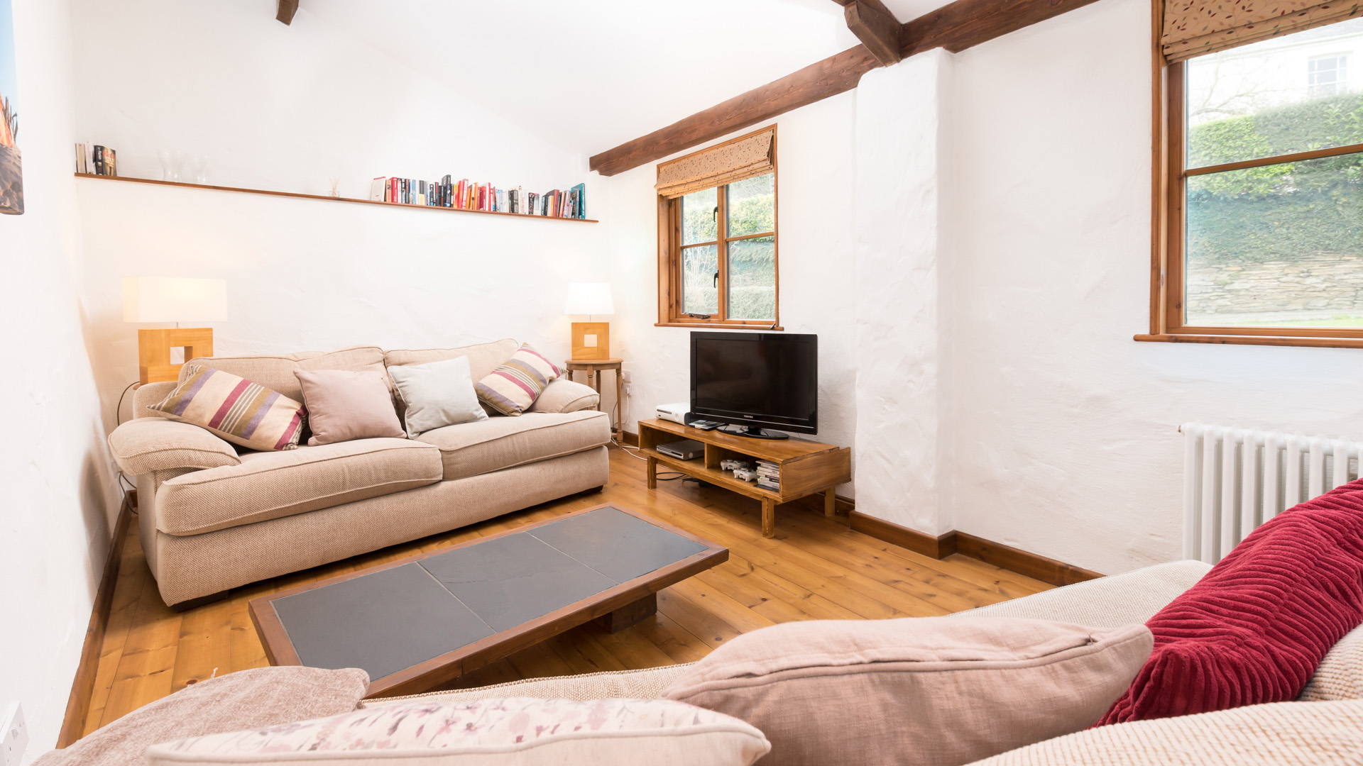 The Byre living area