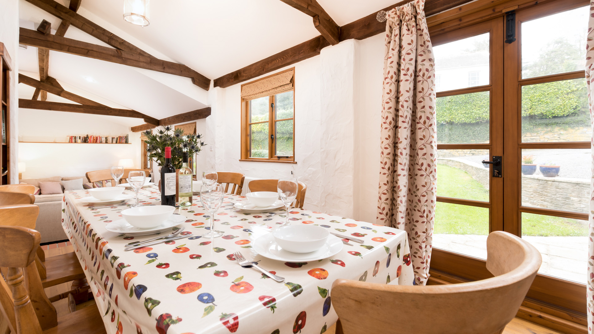 The Byre dining area