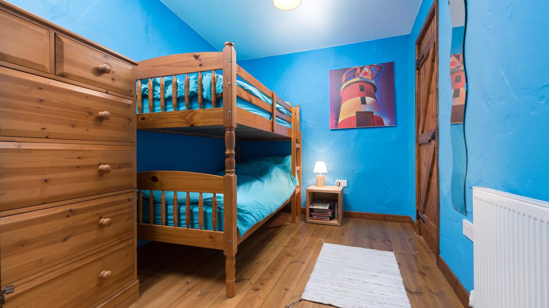 The Byre bunk bedroom