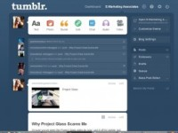 tumblr homepage