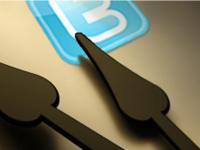 twitter logo watch hands