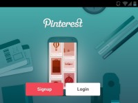 pinterest sign in page