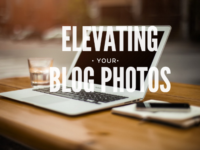 elevating your blog with photos