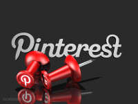 pinterest with push pins