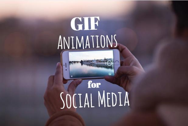 using gifs on social media