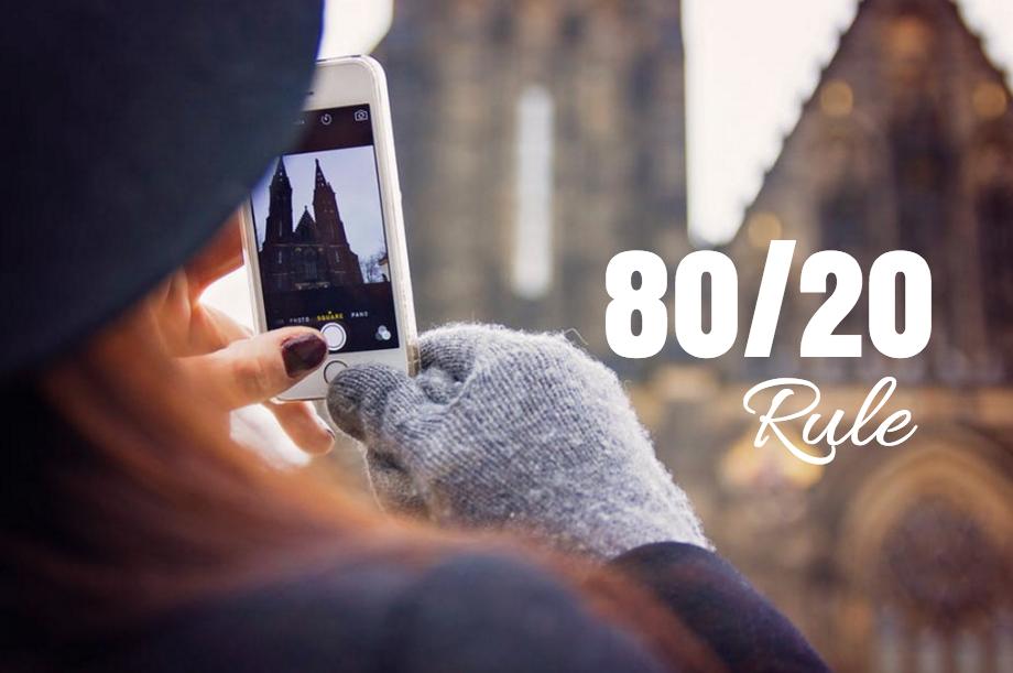 80/20 Rule for Social Media