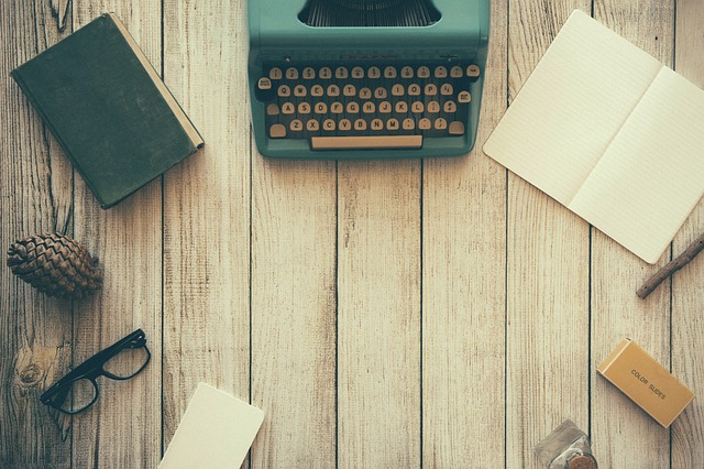 old school typewriter