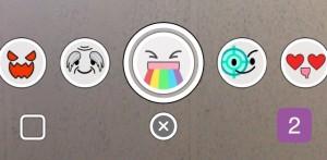 choosing snapchat filters