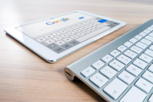 tablet and keyboard on google search