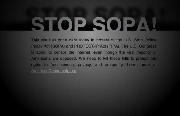 stop SOPA sign