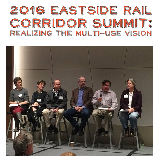 Image courtesy of King County ERC website. Pictured: RAC members and EGA stakeholders participate in a panel discussion at the 2016 Summit.