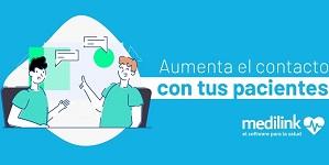 Utiliza Medilink para contactar con tus pacientes