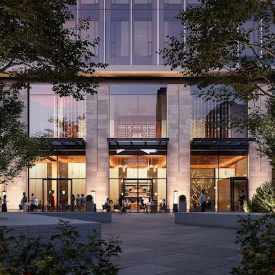IMAGE: RioCan, Metropia and Capital Developments are partners to develop the 11 Yorkville condominium tower in Toronto. (Courtesy RioCan/Metropia/Capital)