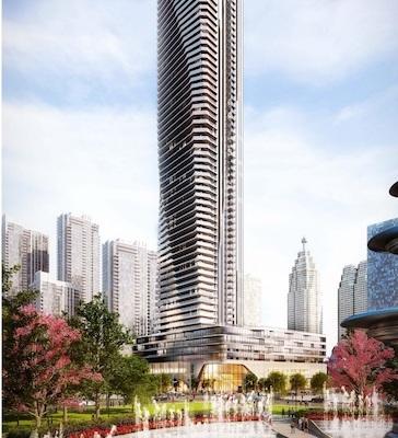 IMAGE: The Prestige At Pinnacle One Yonge tower in Toronto is being developed by Pinnacle International. (Courtesy Pinnacle International)