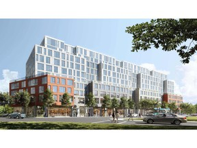 Podium Developments celebrates drilling completion at the first-ever large multifamily residential geothermal building in Kingston, ON at 575 Princess Street.