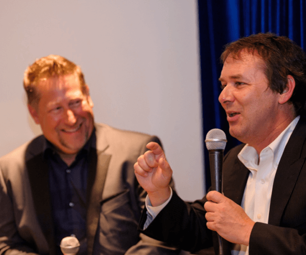 Author Dan Roam and CEO Scott Williams