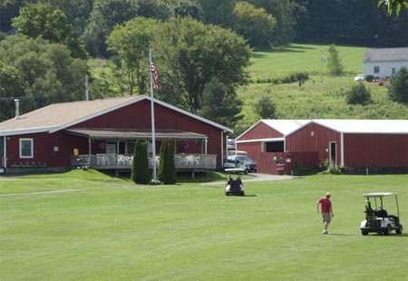 Clubhouse at Elm Tree Golf Course