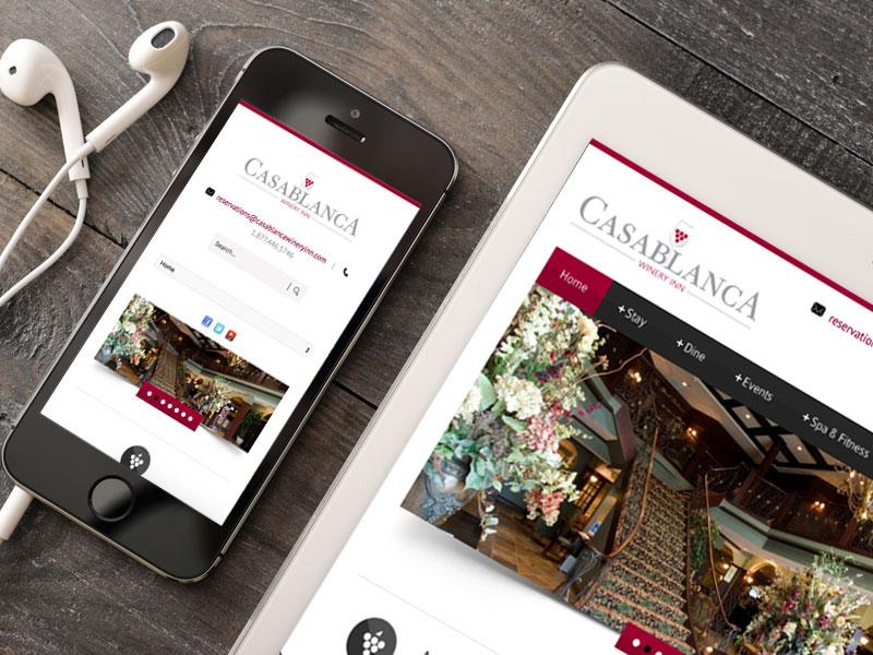 Casablanca Winery Inn portfolio