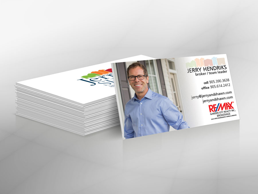 Jerry & Shawn of Niagara business cards