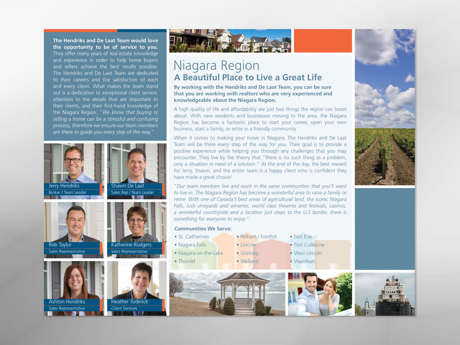 Jerry & Shawn of Niagara brochure design  2