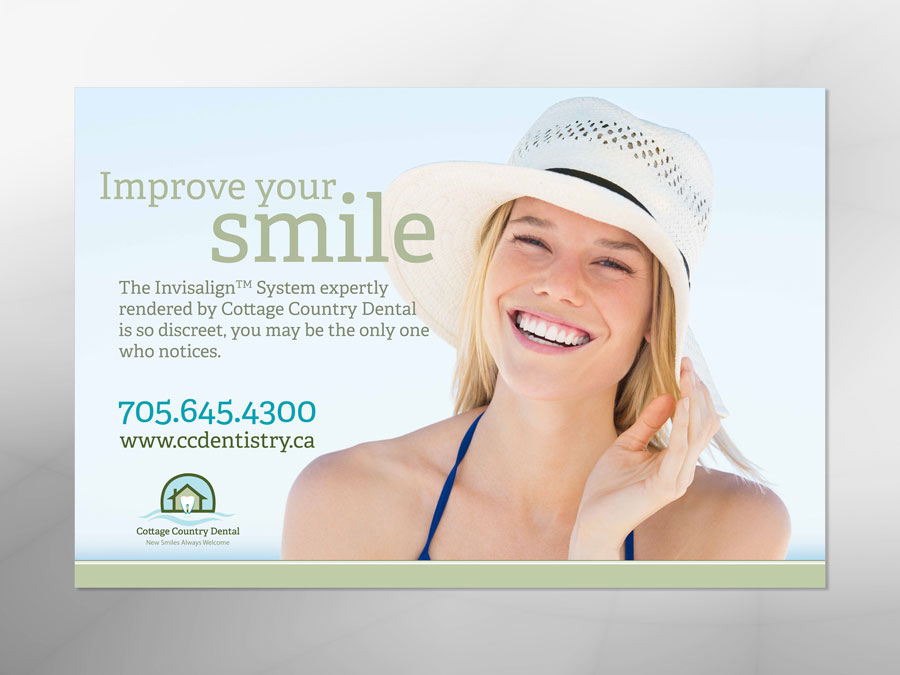 Cottage Country Dental ad design