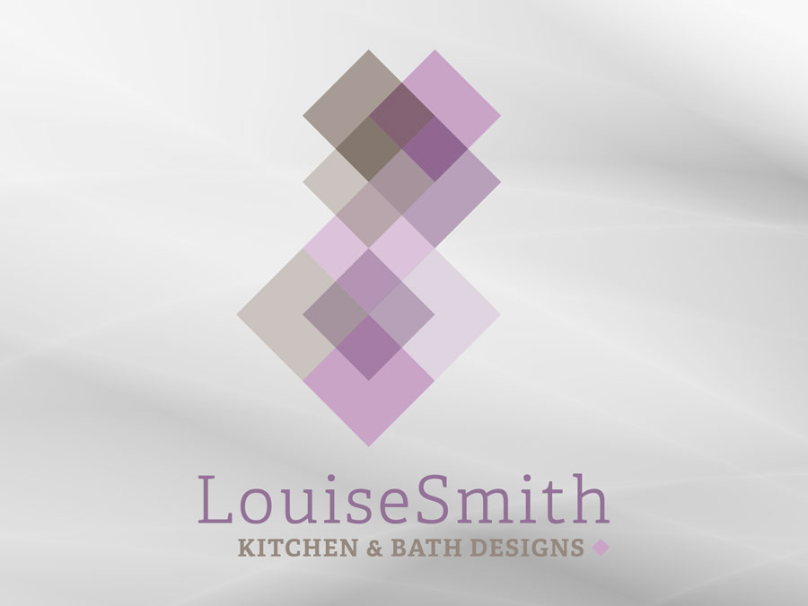 Louise Smith Kitchen & Bath Designs logo design