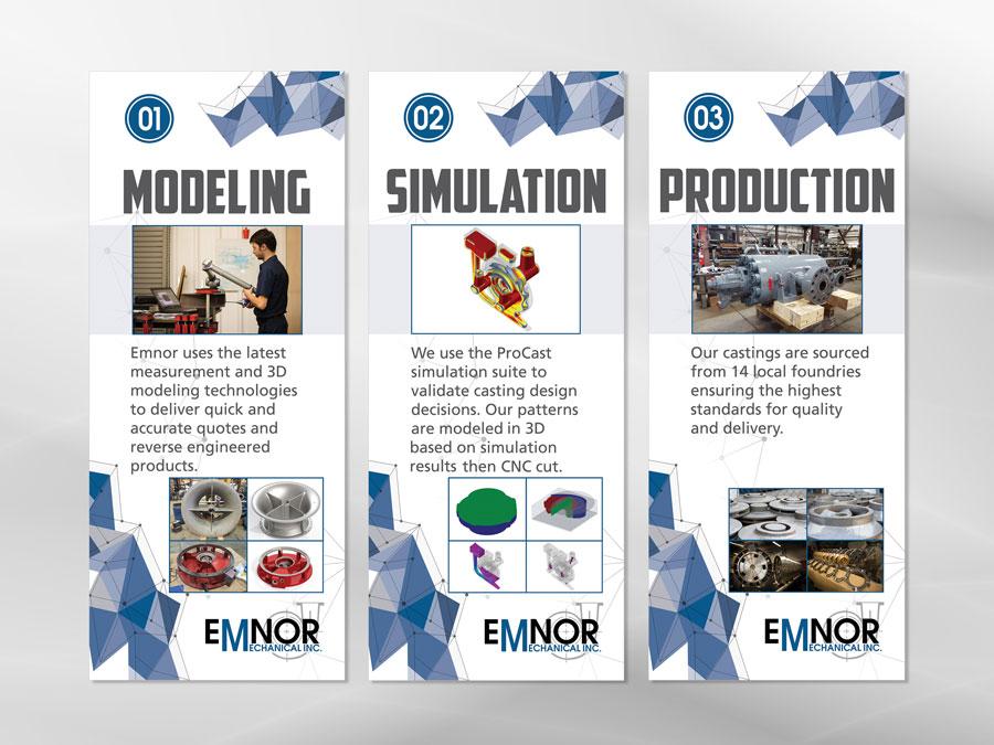 Emnor Mechanical Inc. banner design