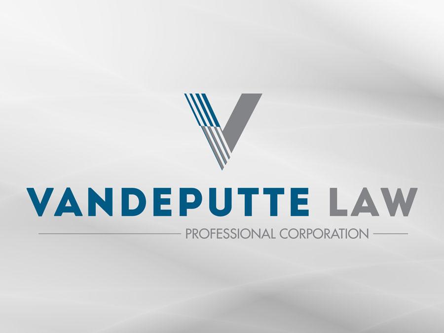 Vandeputte Law logo design
