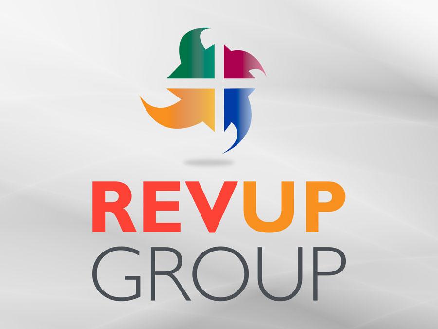 Revup Group logo design