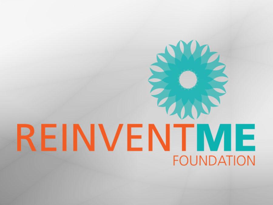 Reinventme Foundation logo design