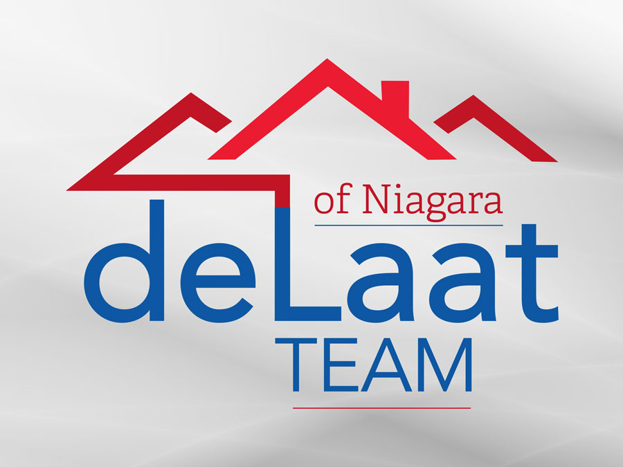 deLaat Team of Niagara logo design