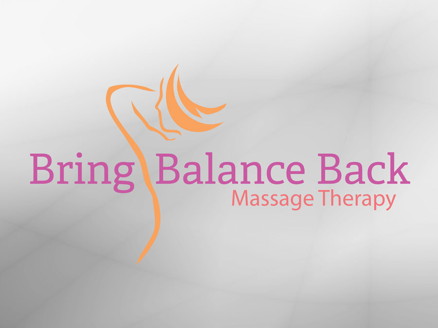 Bring Balance Back Massage Therapy logo design