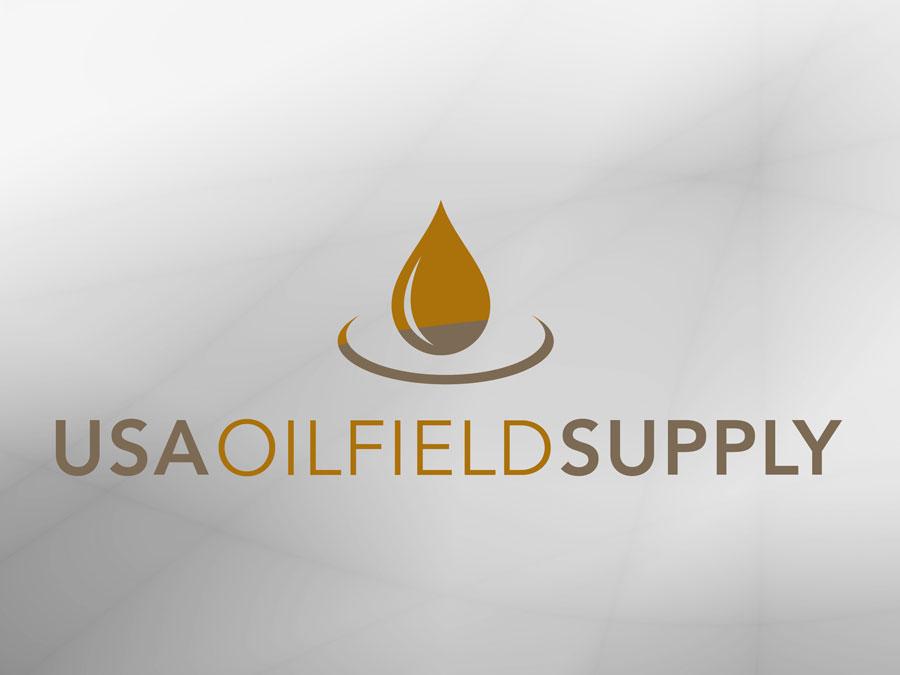 USA Oilfield Supply logo design
