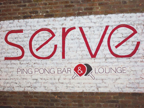 Serve Ping Pong Bar & Lounge portfolio