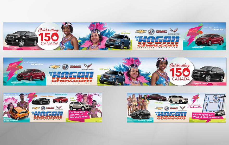 Hogan Chevrolet website design 2