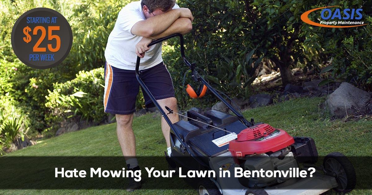 Lawn Care Service in Bentonville AR
