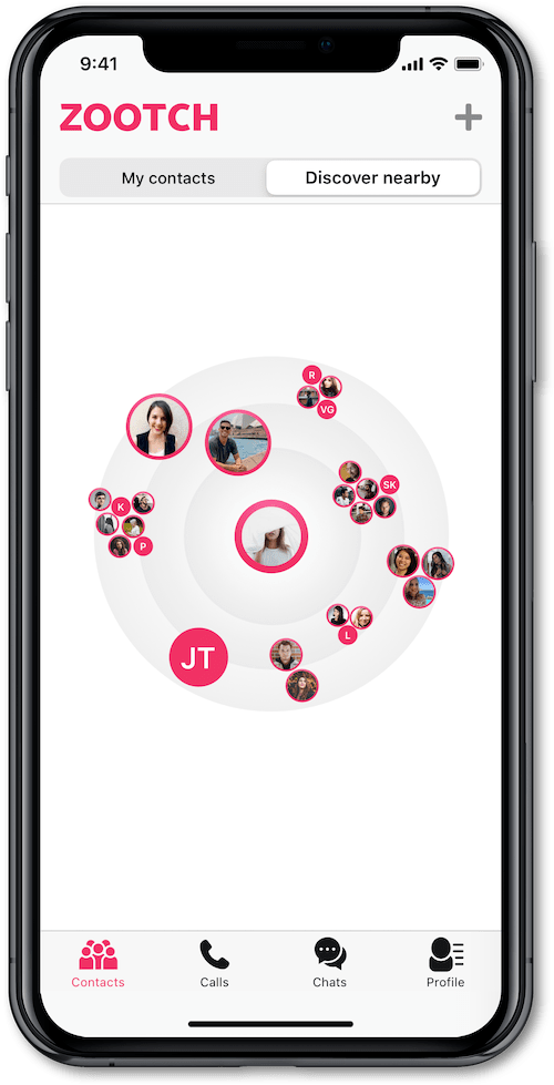 Image for Zootch – a messenger app