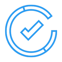 circled checkmark icon