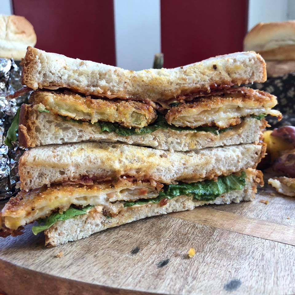 Fried Green Tomato BLT at Dollywood