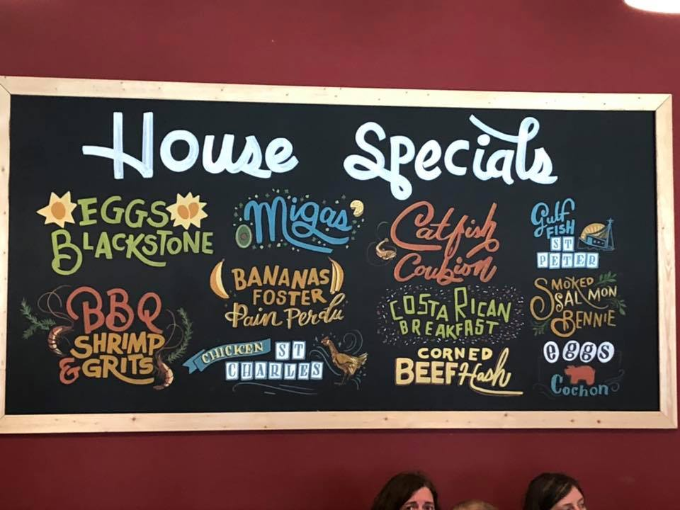 The Ruby Slipper house specials